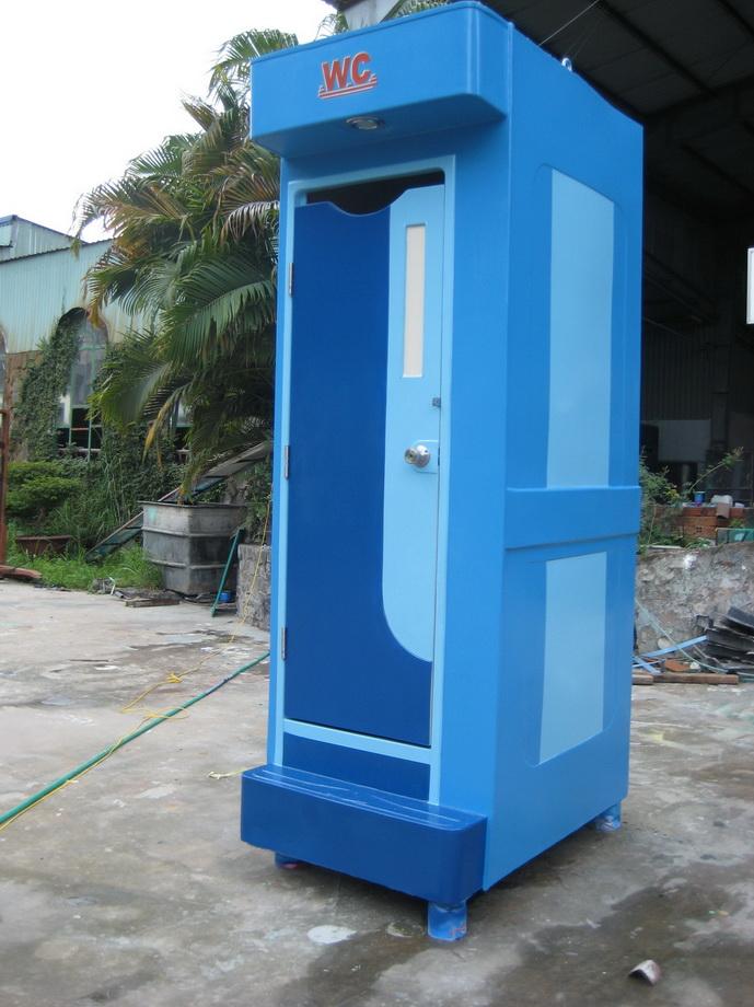lắp đặt nhà vệ sinh di động
