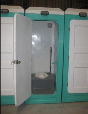 Nhà vệ sinh di động cho công trường