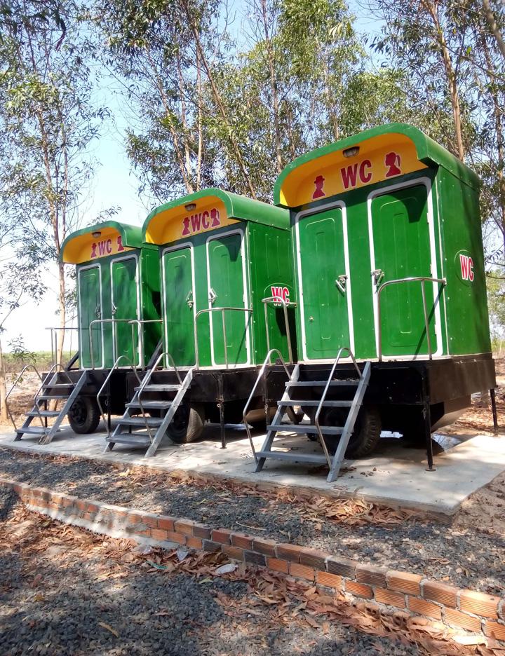 Cho thuê nhà vệ sinh di động tại Hà Nội