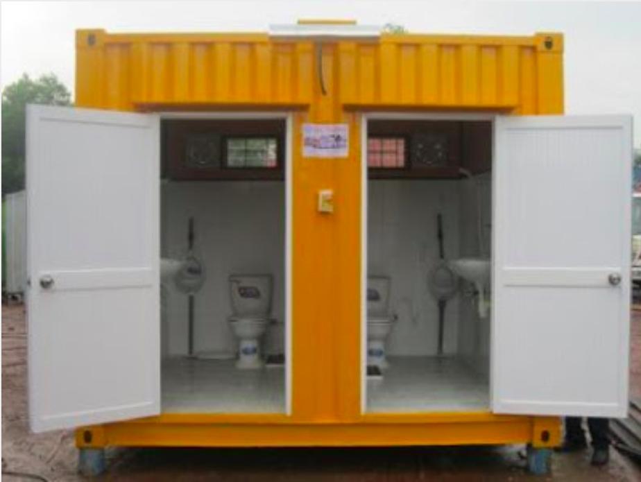 Nhà Vệ Sinh Container 10 Feet