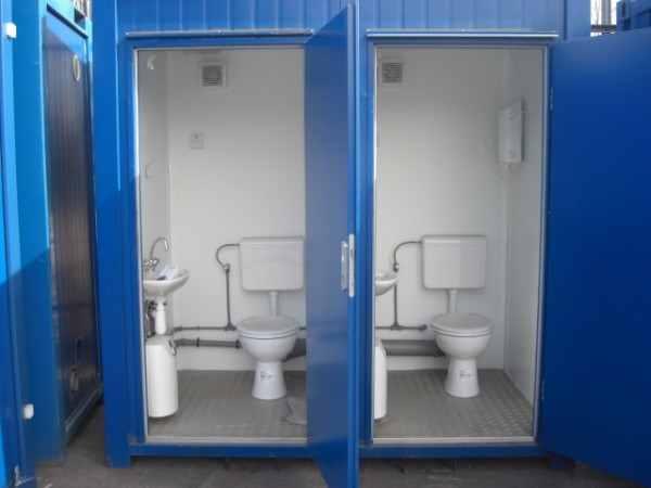 Cấu tạo nhà vệ sinh di động bên trong