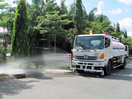 cho thuê xe rửa đường
