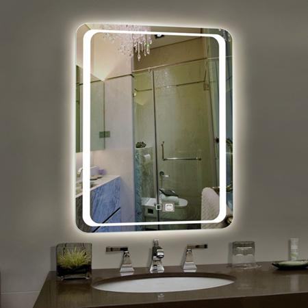 bố trí gương trong nhà vệ sinh